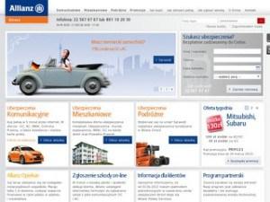 Strona Allianz Direct