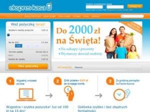 Strona ekspreskasa.pl