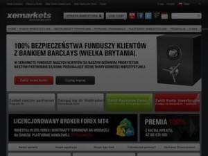 Strona xemarkets.pl/